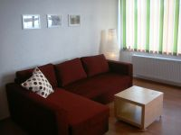 Old string factory - green apartment 2 - Lovingly furnished living area with extra bed possibility